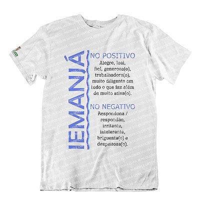 Camiseta Características Filha(o) Iemanjá