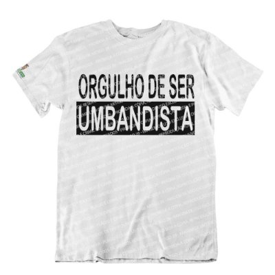 Camiseta Orgulho de Ser Umbandista