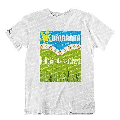 Camiseta Religião da Natureza