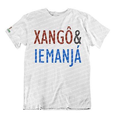 Camiseta Coleção Pai & Mãe: Xangô & Iemanjá