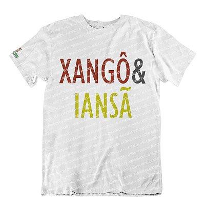 Camiseta Coleção Pai & Mãe: Xangô & Iansã