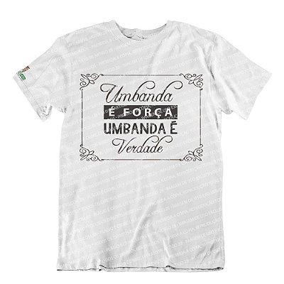 Camiseta Umbanda é Força