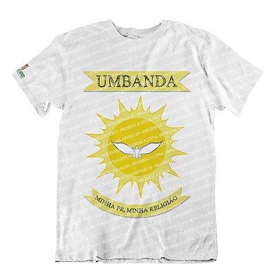 Camiseta Bandeira da Umbanda