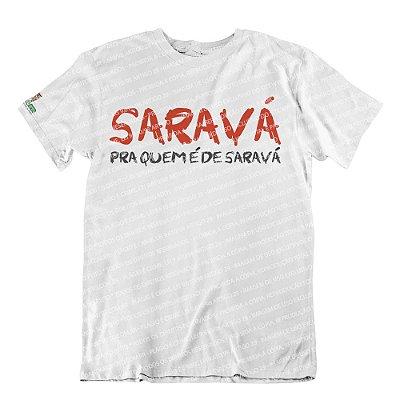 Camiseta Quem é de Saravá