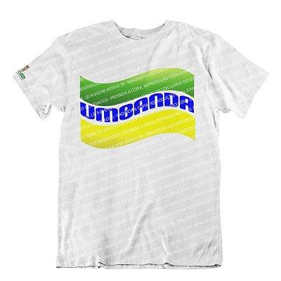 Camiseta Umbanda Verde e Amarela