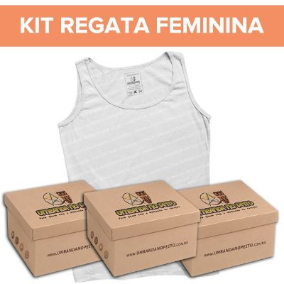 Kit Regatinha Feminina