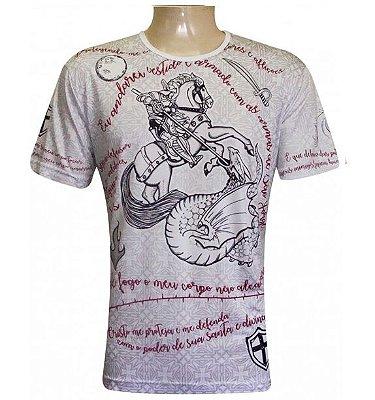 Camiseta São Jorge Proteção Viscose
