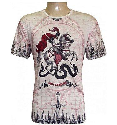 Camiseta São Jorge Santo Guerreiro Viscose