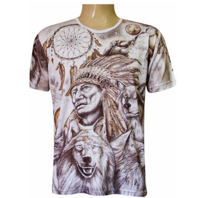 Camiseta Cacique Viscose