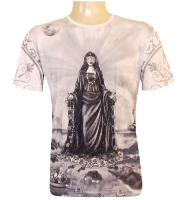 Camiseta Rainha do Mar Viscose - TAM M, G