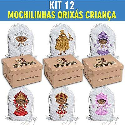 Kit com 12 Mochilinhas
