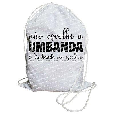 Mochilinha para Guias / Colares / Fios de Contas - A Umbanda Me Escolheu