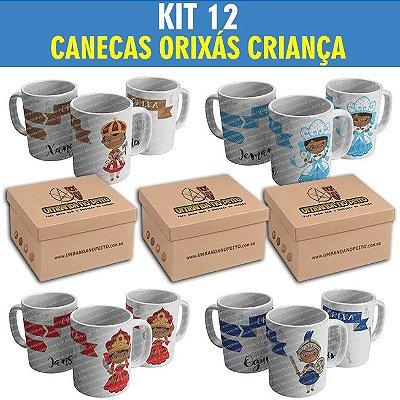 Kit com 12 Canecas (R$ 19,90 por caneca)