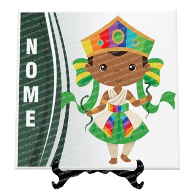 Azulejo Oxumaré Criança - Personalize com o nome!