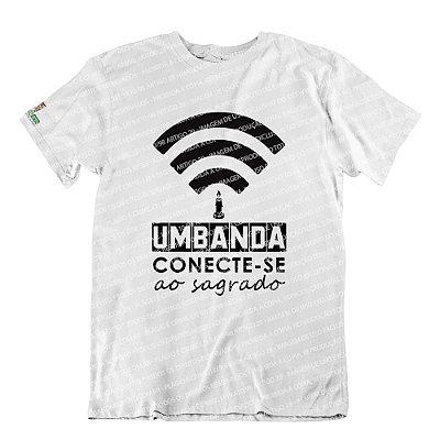 Camiseta Umbanda Conecte-se