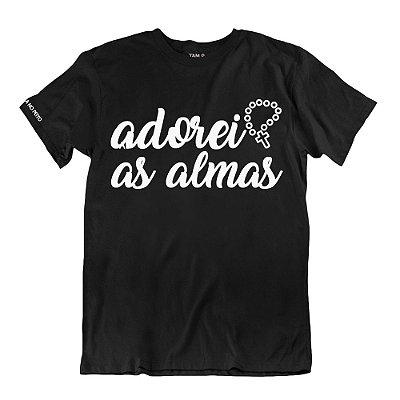 Camiseta Preta Adorei as Almas