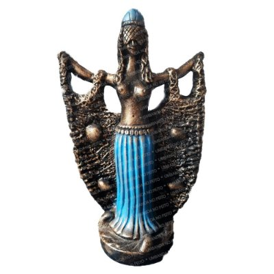 Imagem Africana Iemanjá (25 cm)