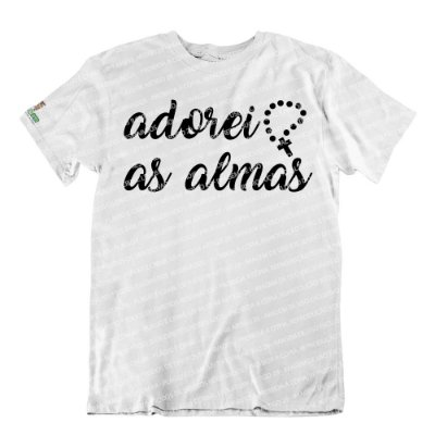 Camiseta Adorei, As Almas Adorei