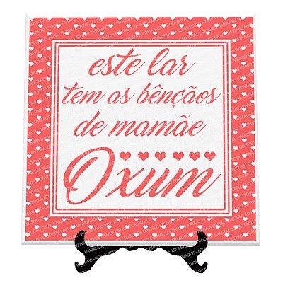 Azulejo Meu Lar Oxum (Rosa / Amarelo)