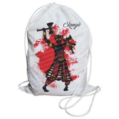 Mochilinha para Guias / Colares / Fios de Contas - Xangô