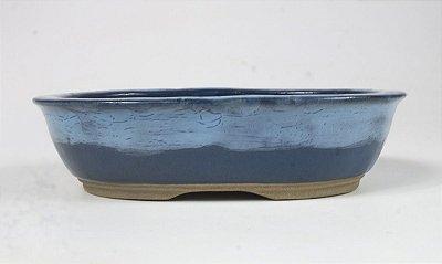 Vaso oval esmaltado