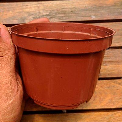 Vaso plástico (11cm de diâmetro - usados em perfeito estado)