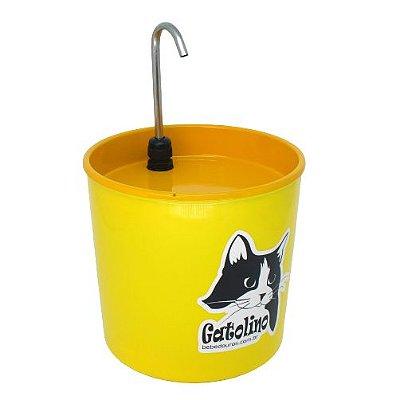 Bebedouro Colors Gatolino Amarelo