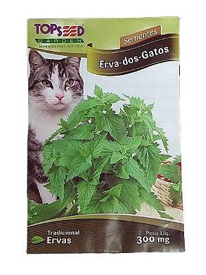 Sementes de Erva-do-Gato Catnip