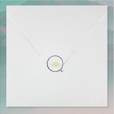 Colar Amuleto ThetaVibes Pedra da Lua