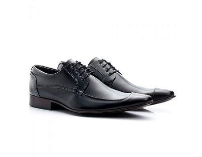 Sapato Social Masculino Bigioni Couro Preto 371