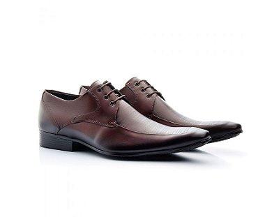 Sapato Social Masculino Bigioni Couro Risque Mouro 363