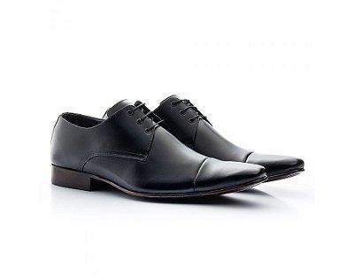 Sapato Social Masculino Bigioni Couro Preto 307