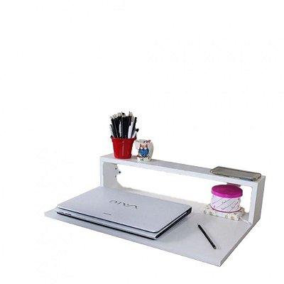 Mesa Suspensa Notebook Trovarelli Branca