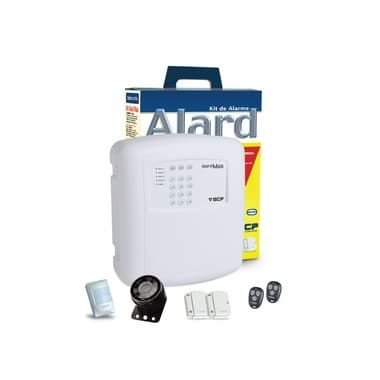 Kit Alarme Residência Comércio S/ Fio Key Alard Max 4 ECP F109271, Contém: Central de Alarme Max 4 RF 433 MHz; Sensor Infra Vermelho Passivo (IVP); Sensor magnético Intruder; Transmissores 433 MHz, Sirene. Garantia 1 ano.