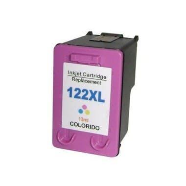 Cartucho de tinta Compatível 122XL Color CH562HB / CH563HB, uso nas impressoras HP Deskjet 1000 J110a / 2000 J210a / 2050 multifuncional J510a / 3050 J610a. Quantidade13 ML. Cartucho Compatível com excelente qualidade.