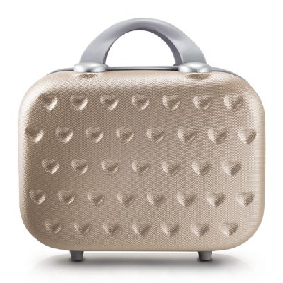 Frasqueira Love 750ML ABS Jacki Design Viagem Dourada
