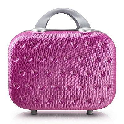 Frasqueira Love 750ML ABS Jacki Design Viagem Pink