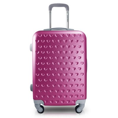 Mala de Viagem Love 3100ML ABS Jacki Design Viagem Pink