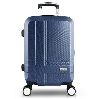 Mala de Bordo Executiva ABS Jacki Design Viagem Azul