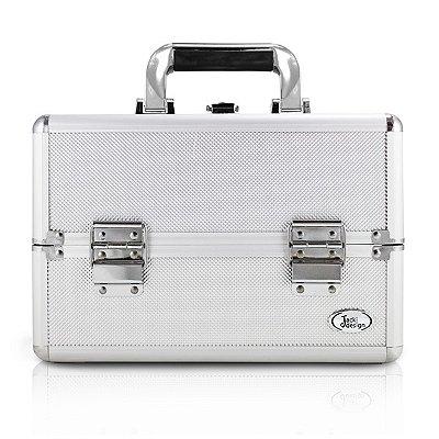 Maleta Profissional de Maquiagem (P) Alumínio/ABS Jacki Design Maletas Prata