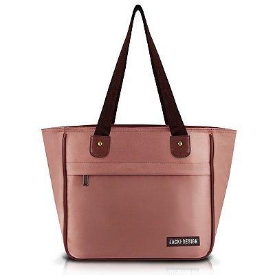 Bolsa Poliéster Jacki Design Essencial III Rosa