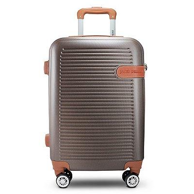 Mala de Viagem Premium ABS Jacki Design Viagem Bronze