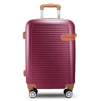 Mala de Viagem Premium ABS Jacki Design Viagem Vinho