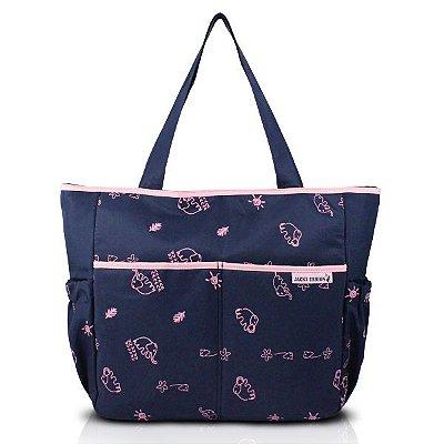 Bolsa de Bebê Estampada Poliéster Jacki Design Mama & Me