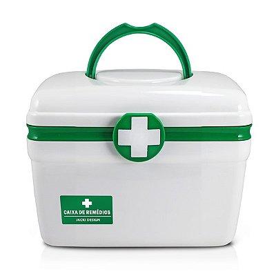 Caixa de Remédios (P) Polipropileno Jacki Design Organizadores