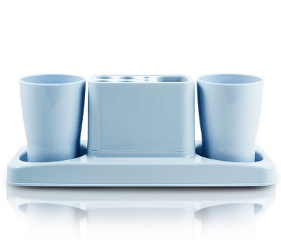 Kit de Banheiro de 4 Peças Polipropileno Jacki Design Lifestyle