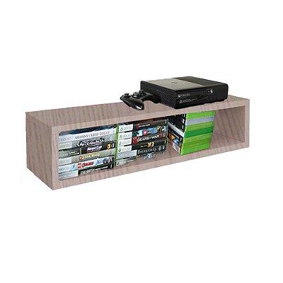 Nicho Retangular Suporte Para Xbox Em Mdf - Madeira