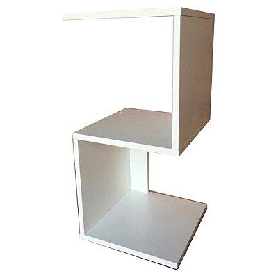Mesa de Cabeceira S Em Mdf - Branco