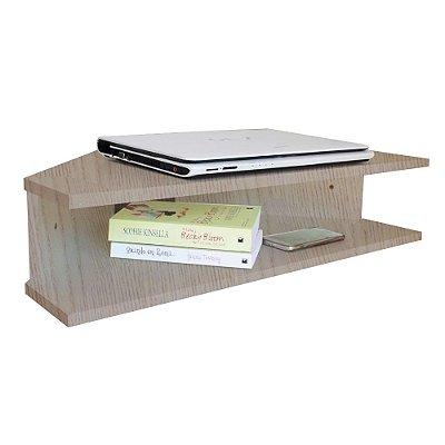 Mesa Suspensa Canto Notebook - Madeirado