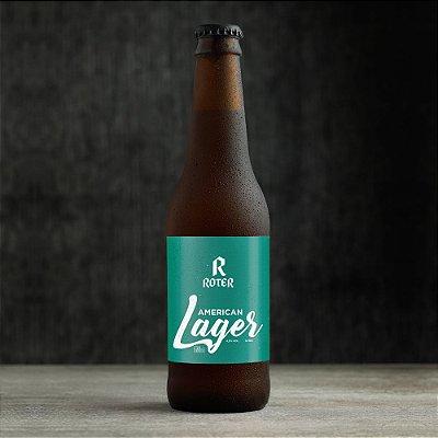 Roter American Lager (355ml) - Caixa com 12 Garrafas